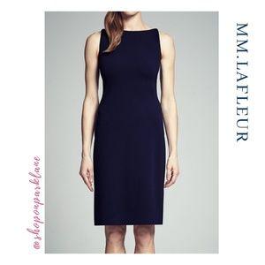 MM.Lafleur Lydia Dress, Deep Indigo Blue, Size 2